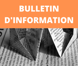 Bulletin d'information n° 72 septembre 2020