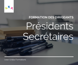 Présidents et secrétaire