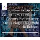 Gérer ses contacts : communiquer avec eux, partage d'agenda et de fichiers