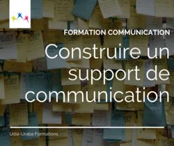 Construire un support de communication - VISIOCONFERENCE
