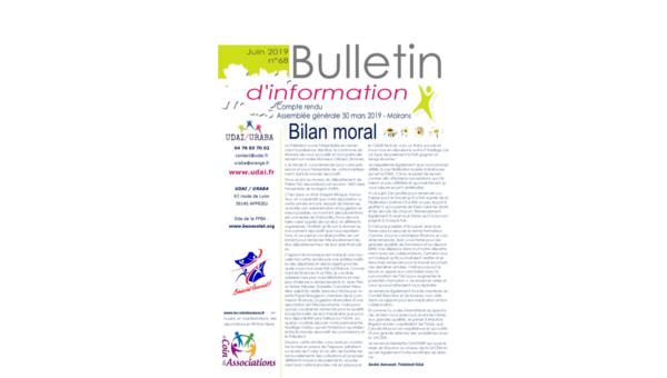 Le bulletin d'information n°68 est en ligne !