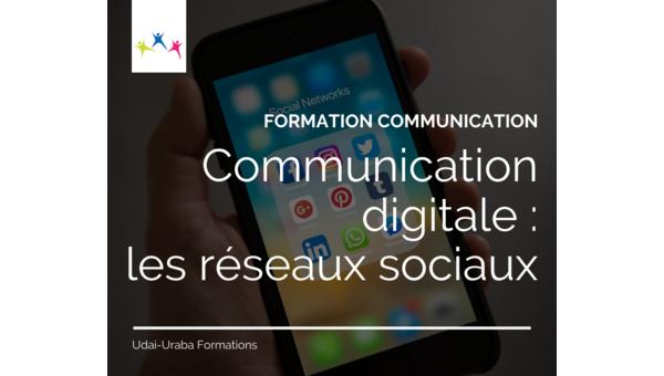 Formation communication : Communication digitale, les réseaux sociaux