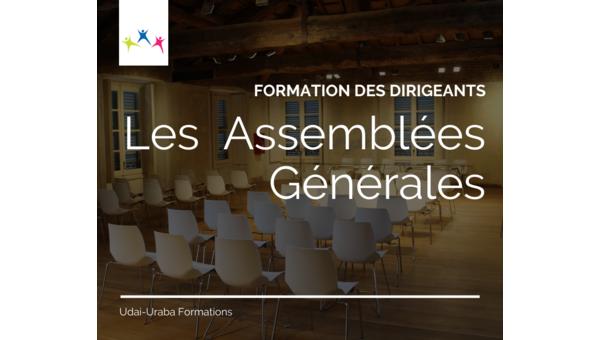 Formation des dirigeants : les Assemblées Générales