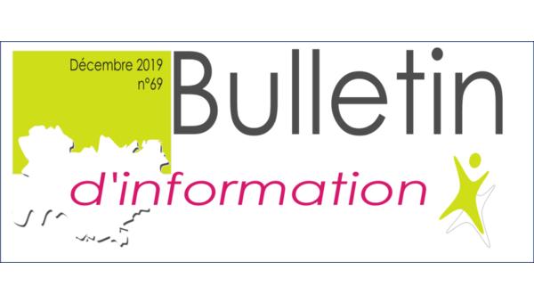 Le bulletin d'information n°69 est en ligne !