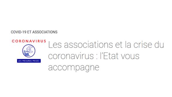 COVID-19 : Mesures et soutien aux associations