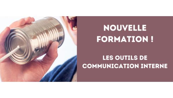 Nouvelle formation 2021 : Les outils de communication interne