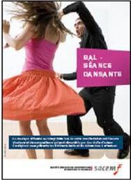 plaquette Sacem 2017 forfait Bal/thé dansant