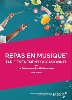 """Plaquette Sacem 2018/2020 forfait """"Repas en musique"""""""