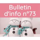 Bulletin d'information n° 73 décembre 2020