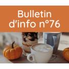 Bulletin d'information n° 76 septembre 2021